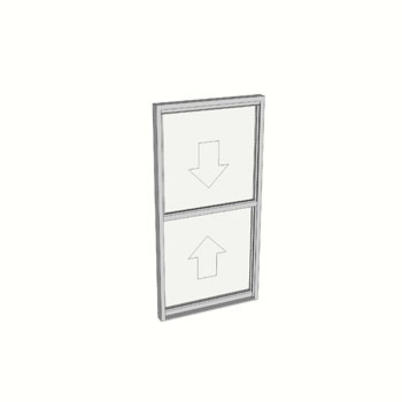 1200 x 610 1 Light double hung window