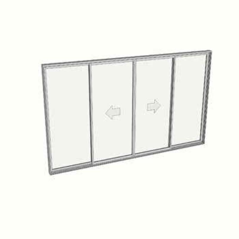 2100 x 2988 4 Panel Sliding door